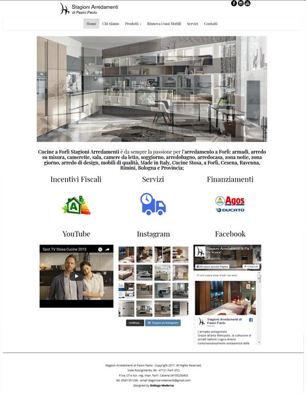Mobili Su Misura Bologna E Provincia.Stagioni Arredamenti Bottega Moderna Web Agency Realizzazione