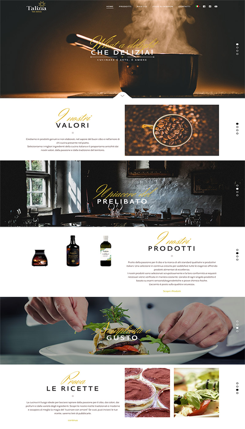 Talizia-bottega-moderna-homepage